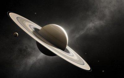Satürn'ün bir fotoğrafı