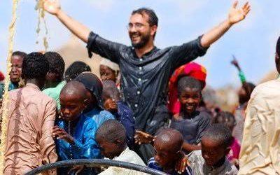 Afrika'da çekilmiş en mutlu anlardan bir fotoğraf